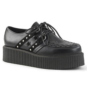 Other - Mens Platform Oxford Star Studded Creeper Shoes